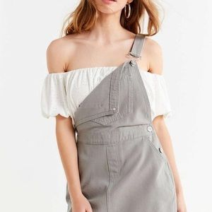 Grey Overall Dress